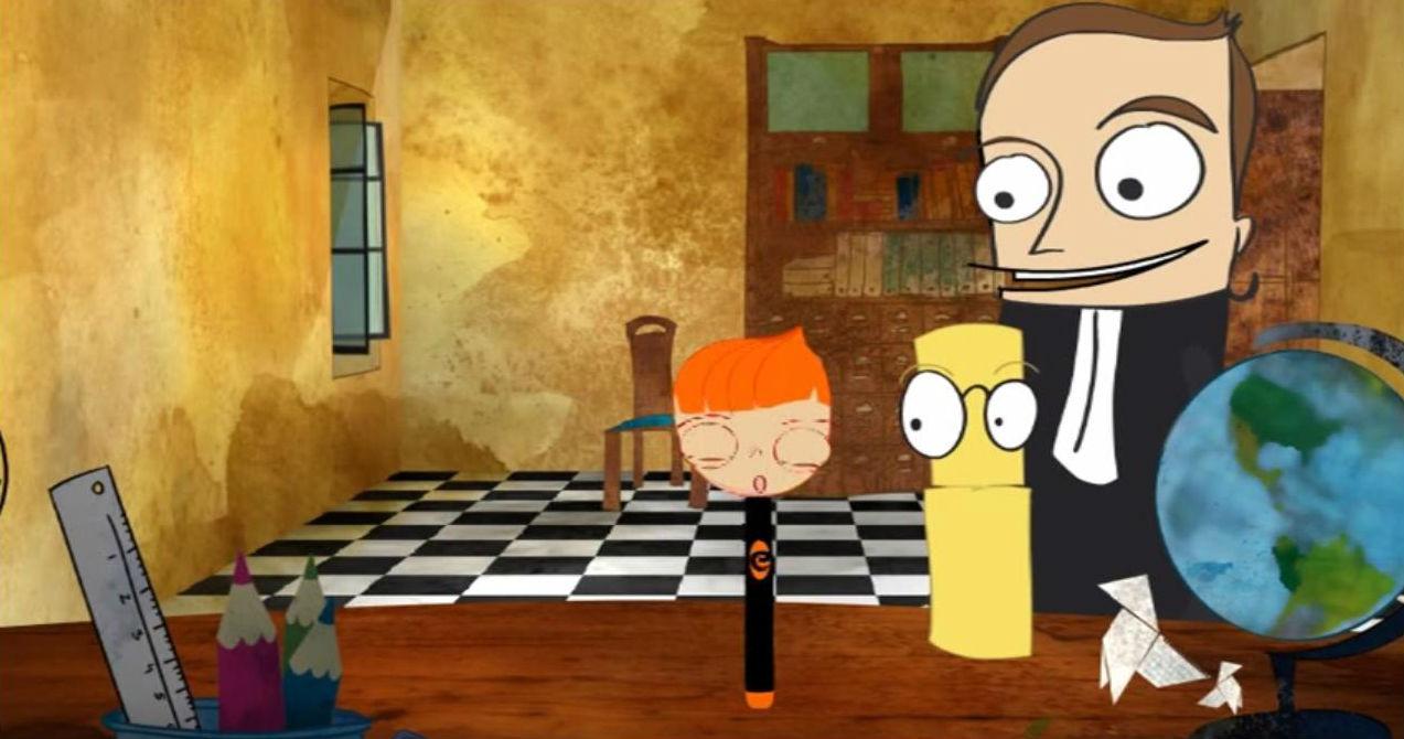 Serie de animación «El club de SED»