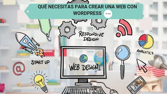UNA WEB CON WORDPRESS