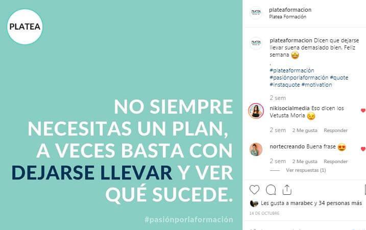 ideas para publicar en Instagram