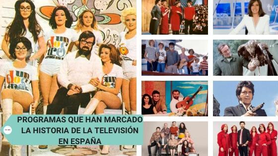 Programas que han marcado la historia de la televisión en España