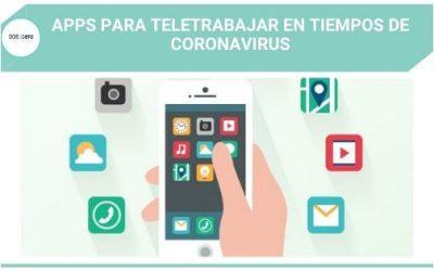 Apps para teletrabajar en tiempos de coronavirus